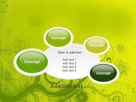 Green Ornament PowerPoint Template Slide 16