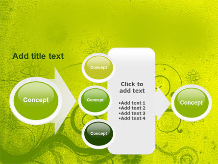 Green Ornament PowerPoint Template Slide 17