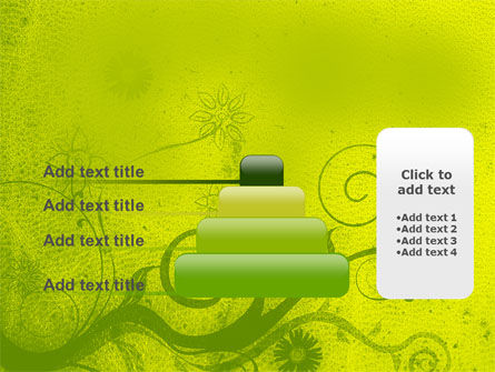 Green Ornament PowerPoint Template Slide 8