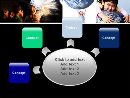 Pupils Of The World PowerPoint Template Slide 7