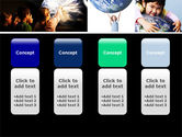 Pupils Of The World PowerPoint Template#5