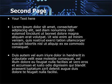 Computer Scheme PowerPoint Template, Slide 2, 05453, Technology and Science — PoweredTemplate.com
