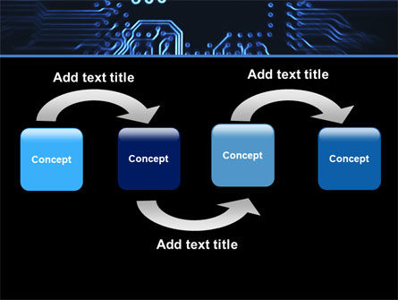 Computer Scheme PowerPoint Template, Slide 4, 05453, Technology and Science — PoweredTemplate.com