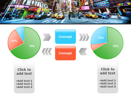 Times Square PowerPoint Template Slide 11