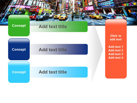 Times Square PowerPoint Template Slide 12
