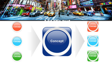 Times Square PowerPoint Template Slide 17