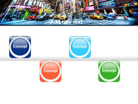Times Square PowerPoint Template Slide 19