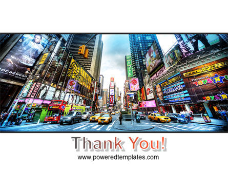 Times Square PowerPoint Template Slide 20