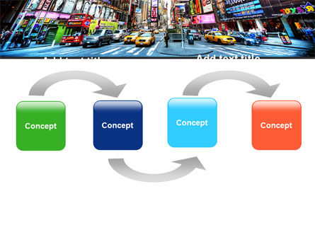 Times Square PowerPoint Template Slide 4