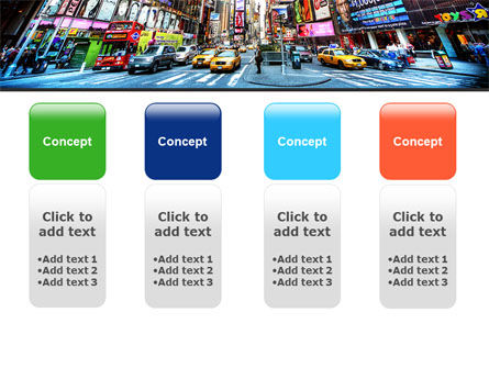 Times Square PowerPoint Template Slide 5