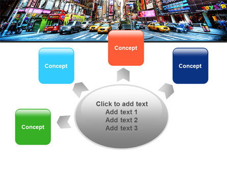 Times Square PowerPoint Template Slide 7