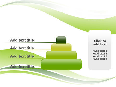 Green Leaf Wave PowerPoint Template Slide 8
