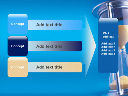 Hourglass PowerPoint Template Slide 12