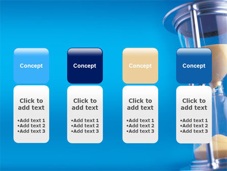 Hourglass PowerPoint Template Slide 5