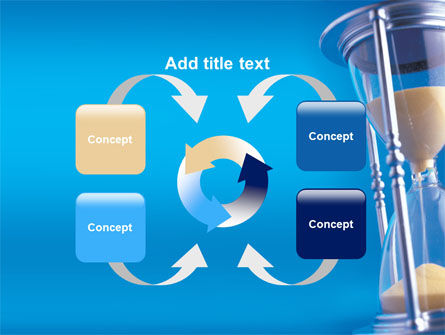 Hourglass PowerPoint Template Slide 6
