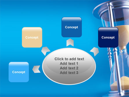 Hourglass PowerPoint Template Slide 7