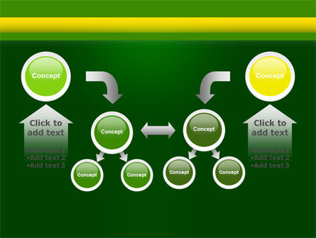 Daisy Chain PowerPoint Template Slide 19