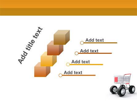 Cart PowerPoint Template Slide 14