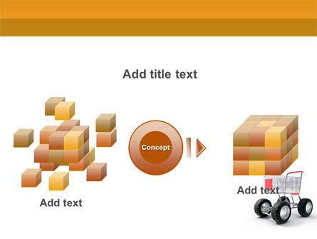 Cart PowerPoint Template Slide 17