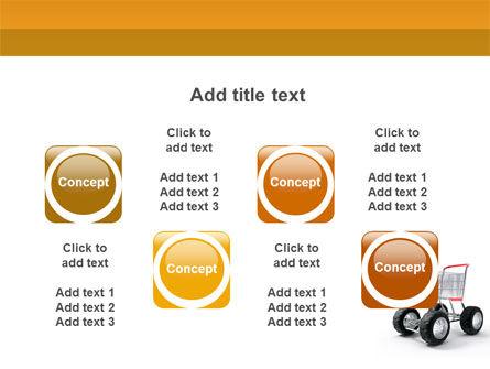 Cart PowerPoint Template Slide 18