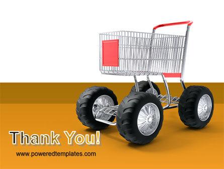 Cart PowerPoint Template Slide 20