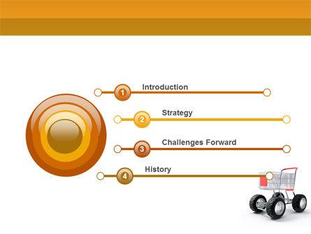 Cart PowerPoint Template, Slide 3, 05463, Careers/Industry — PoweredTemplate.com