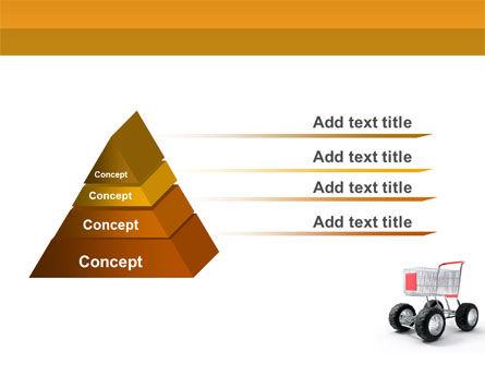Cart PowerPoint Template, Slide 4, 05463, Careers/Industry — PoweredTemplate.com
