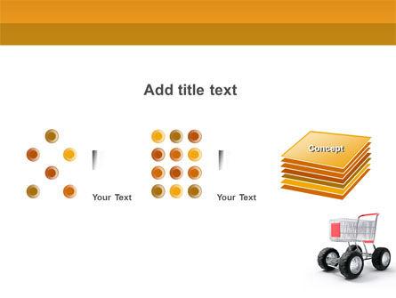 Cart PowerPoint Template Slide 9