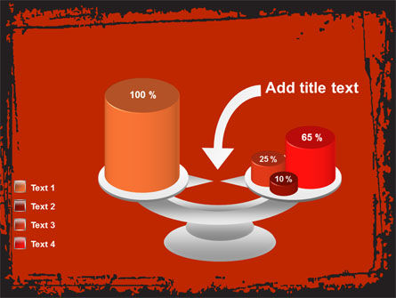 Red Circles PowerPoint Template Slide 10