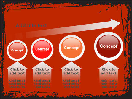 Red Circles PowerPoint Template Slide 13