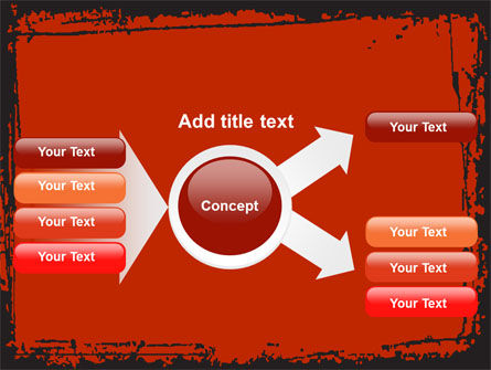 Red Circles PowerPoint Template Slide 14
