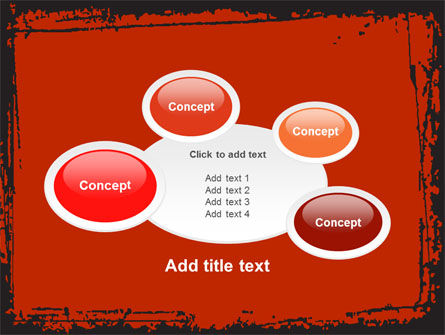 Red Circles PowerPoint Template Slide 16