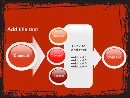 Red Circles PowerPoint Template Slide 17