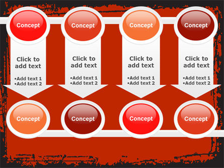 Red Circles PowerPoint Template Slide 18