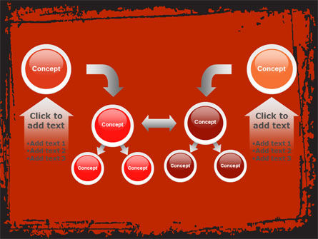 Red Circles PowerPoint Template Slide 19