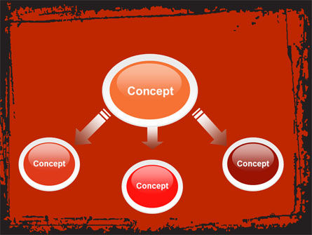 Red Circles PowerPoint Template Slide 4