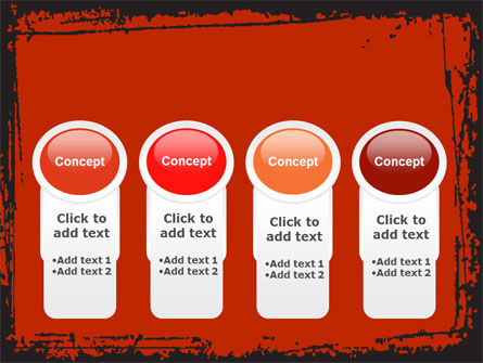 Red Circles PowerPoint Template Slide 5