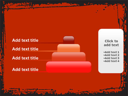 Red Circles PowerPoint Template Slide 8