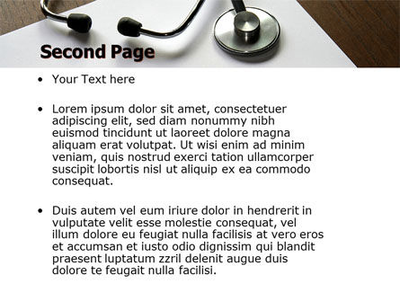 Portrait Of Medical Staff PowerPoint Template, Slide 2, 05468, Medical — PoweredTemplate.com