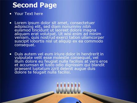 Hitting The Goal PowerPoint Template, Slide 2, 05469, Sports — PoweredTemplate.com