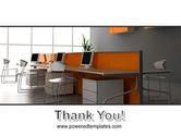 Office Open Space PowerPoint Template#20
