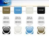 Modern Plane PowerPoint Template#18