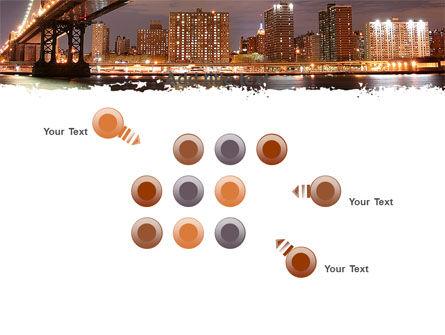 Manhattan Bridge PowerPoint Template Slide 10