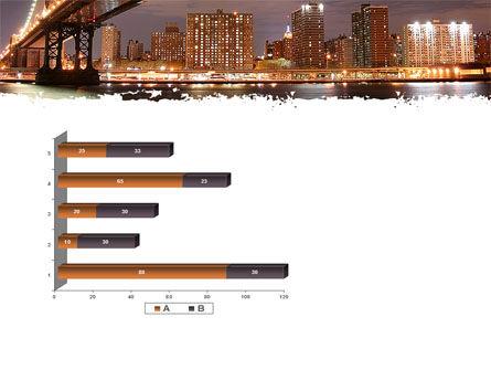 Manhattan Bridge PowerPoint Template Slide 11