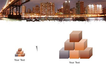 Manhattan Bridge PowerPoint Template Slide 13