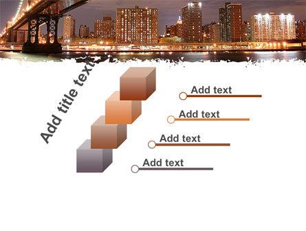 Manhattan Bridge PowerPoint Template Slide 14