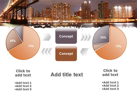 Manhattan Bridge PowerPoint Template Slide 16