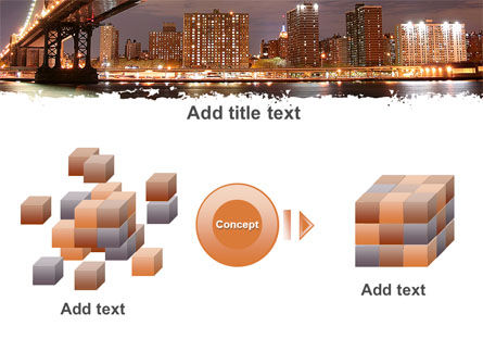 Manhattan Bridge PowerPoint Template Slide 17