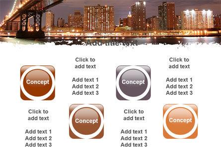 Manhattan Bridge PowerPoint Template Slide 18
