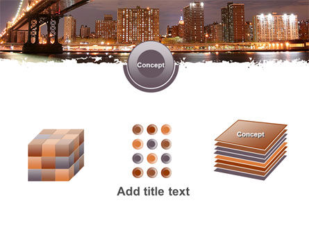 Manhattan Bridge PowerPoint Template Slide 19